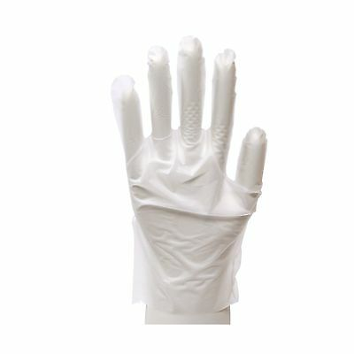 Daxwell Stretch Polyethylene Glove Small White (Box of 100 Gloves)