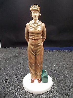 "Royal Doulton Queen Elizabeth II Limited Edition Figurine ""Army Days"""