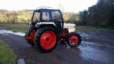 david brown 1490 4wd tractor 90hp turbo mini digger excavator V5 SUPPILED