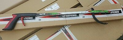 Litter Picker Pro Helping Hand Trigger Action Claw Grabber End (27in)