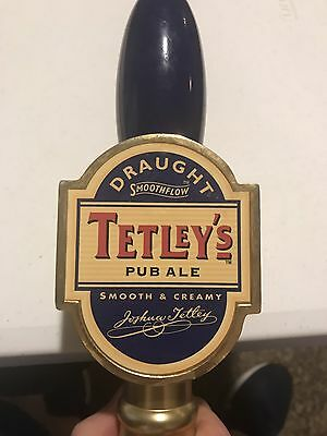 Tetleys Pub Ale Tap Handle