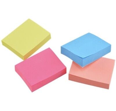 Jot MIni Sticker Sticky Post-It Notes - 2in x 1.5 4 Pads Packs 400 Sheets