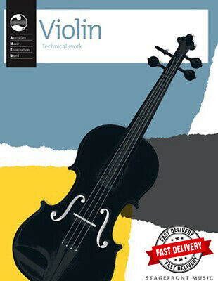 Ameb Violin Technical Workbook *Current Edition*  **Brand New**