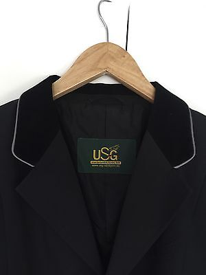 Men's Large Black Horse Riding Dressage/Show Jacket