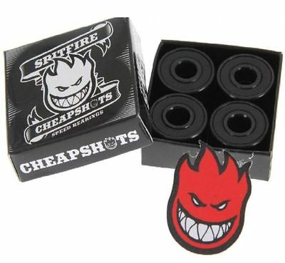 8 X Skateboard Bearings Spitfire  - Free Delivery