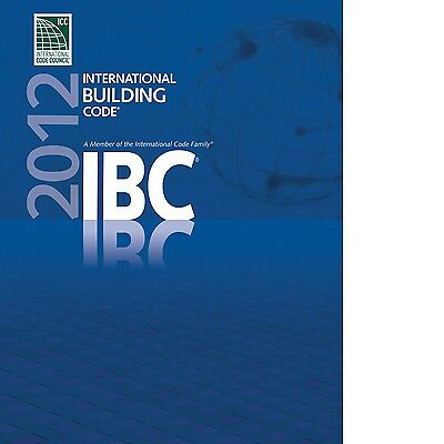 2012 International Building Code (IBC) by International Code Council (On CD)