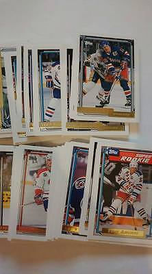 1992-93 Topps Gold Insert Hockey 92/93 92-93 You Pick UPick From List Lot