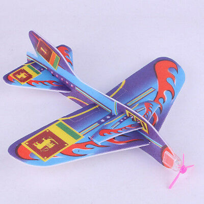 New Stretch Flying Glider Planes Aeroplane Children Kids Toys Game Cheap Gift MO
