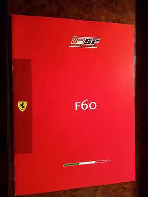 Ferrari Official F60 Formula One Press Brochure 2009 F1 Räikkönen Massa Badoer