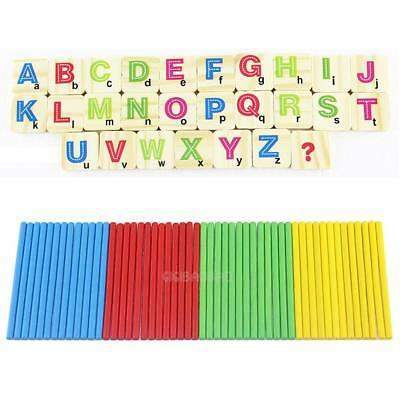 Children Wooden Numbers Mathematics Early Learning Counting Educational Toy #gib