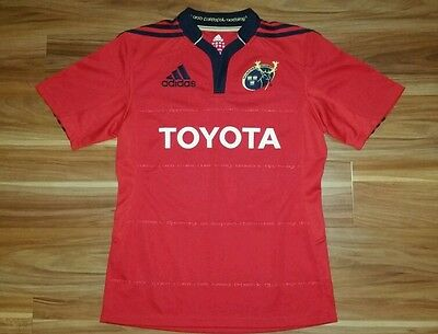 Rugby Union Jersey Club side Munster Authentic Adidas Mens Small