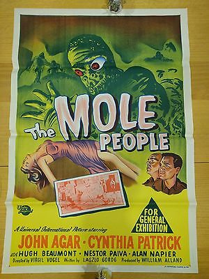Deadly Mantis, Monolith Monsters, Dinosaurus, Mole People Vintage Posters