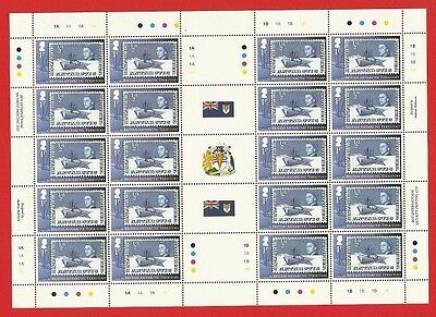 MNH British Antarctic stamp sheet