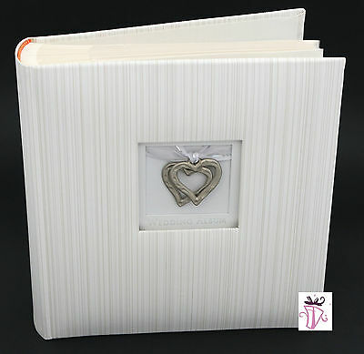 Engagement,Wedding, Anniversary gift Archival White  200 slip in photo album