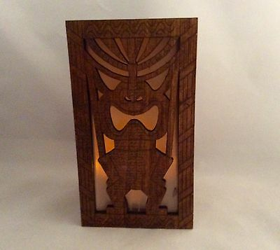 Laser Crafted Led Mood Light Multi Color(Tiki - God Of Money).