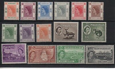 HONG KONG & MAURITIUS & MONTSERRAT - Beautiful Mint Stamps