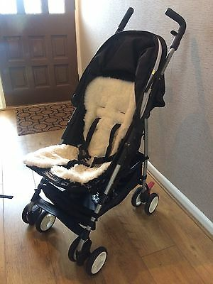 Mothercare Mino Pushchair Stroller Pram With Rain Cover Excellent Condition