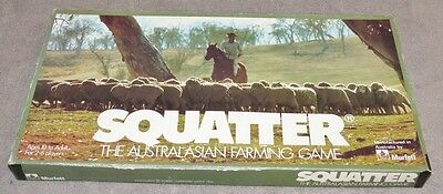 Squatter - The Australasian Farming Game - Vintage Board Game