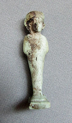 Antique EGYPTIAN Antiquity FAIENCE AMULET Horus LATE PERIOD 500 - 100 BC