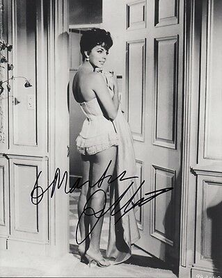 "JOAN COLLINS  - 10"" x 8"" Portrait Photograph PERSONALLY SIGNED To MARTIN F#10"