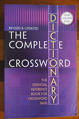 The Complete Crossword Dictionary Third Edition 2007 Merriam Webster Australia