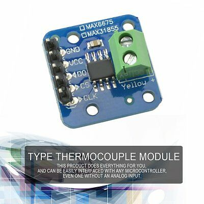 MAX31855 K Type Thermocouple Temperature Sensor Module -200℃ to+1350℃ Out L P6