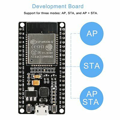 ESP-32 2.4 GHz Dual-mode Wi-Fi Bluetooth Chips Dual Cores Development Board P6