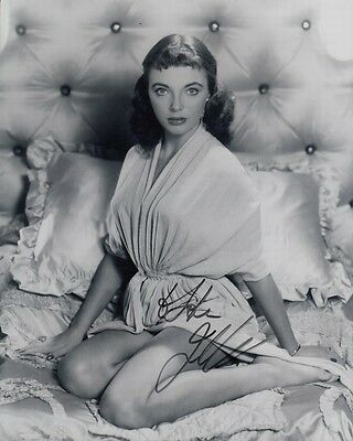 "JOAN COLLINS  - 10"" x 8"" Portrait Photograph PERSONALLY SIGNED To JOHN F#10"