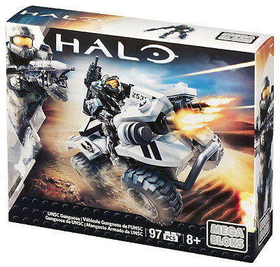 Mega Bloks Halo Unsc Gungoose Off Road Vehicle Brand New In Box Cnh24