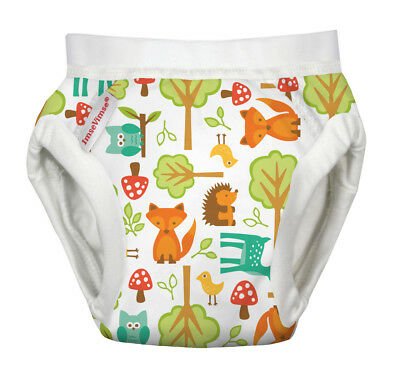 Toilet Training Pants Organic Cotton - Woodlands