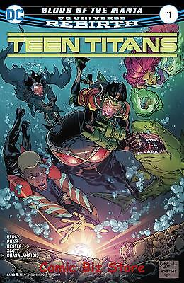 Teen Titans #11 (2017) 1St Printing Bagged & Boarded Dc Universe Rebirth