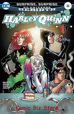 Harley Quinn #26 (2017) 1St Printing Bagged & Boarded Dc Universe Rebirth