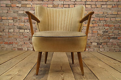 50er Rockabilly Cocktail Chair Club Lounge Chair Vintage Mid-Century Stilnovo 7