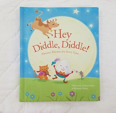 "EUC Hallmark Recordable Storybook ""Hey Diddle, Diddle!"" Kids Book"