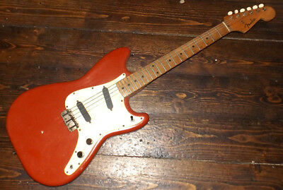 Vintage 1958-1959 Fender Duosonic Electric Guitar - Duo Sonic red offset USA