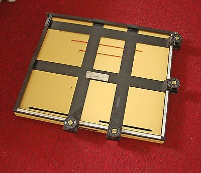 Saunders 11x14 Photo Darkroom MASTER Easel PROFESSIONAL 4 Blades Any Size Crop