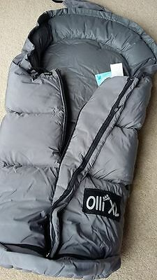 New with Tags Odenwalder Babynest pram quilt/ foot muff - Feather & Down filled