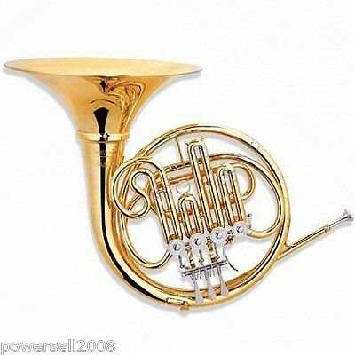 #1 Professional Musical Instruments B Flat Golden Copper 4 Key Single Row Horn