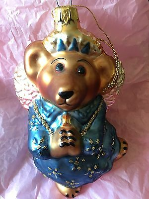 Boyds Bears Glass Christmas Ornament-Numbered
