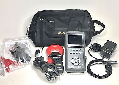 AEMC 8230 PowerPad Jr. 1-Phase Power Quality Analyzer with SR193 1200A Probe