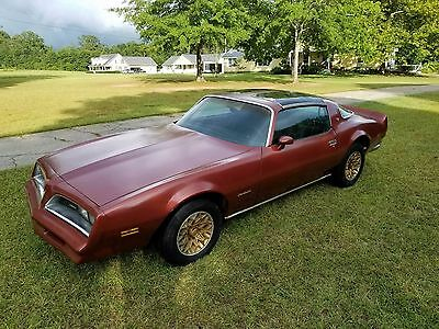 1978 Pontiac Firebird  1978 Firebird Matching #'s T-top 4 speed car