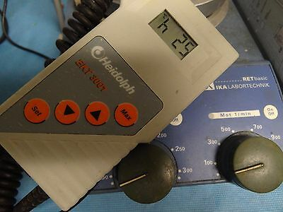 Heidolph EKT3001 Temperature probe Controller TESTED with IKA