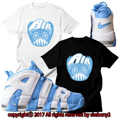 0a8d16d602edc NEW HUSTLE T Shirt for Nike Jordan UNC BLUE OFF WHITE - $25.99 ...