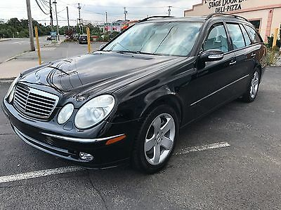 2004 Mercedes-Benz E-Class E500 4MATIC 2004 MERCEDES BENZ E500 4MATIC WAGON  RARE CAR ALL WHEEL DRIVE THIRD ROW SEATING