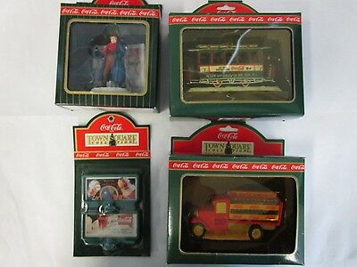 Coca Cola Town Square Collection Old # 7, Delivery Truck, Man w Shovel Billboard