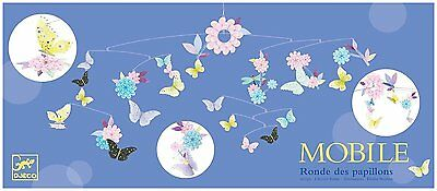 Djeco DD04320 Paper Mobile- Butterfly Twirl Novelty