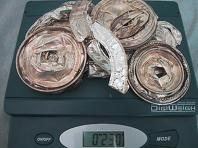 230 Grams of Clean Sterling Silver Scrap - Free Shipping - No Weighted Material