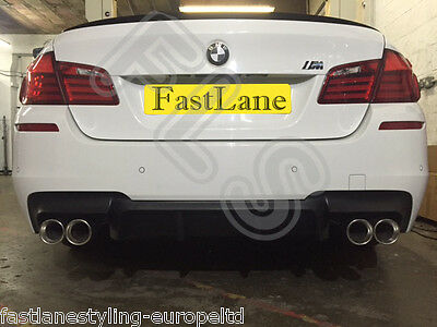 BMW M5 F10 Custom Built Stainless Steel Exhaust Rear Dual System BF103