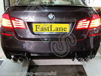 BMW M5 F10 Custom Built Stainless Steel Exhaust Rear Dual System BF102