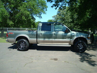 2004 Ford F-250 KING RANCH 2004 FORD F-250 CREW CAB (4X4) (KING RANCH) (BULLET PROOFED WITH RECEIPTS)(140K)